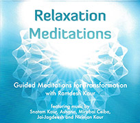 Relaxation Meditations by Ramdesh Kaur