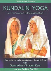 Kundalini Yoga for Circulation and Detox by Gurmukh | Snatam Kaur