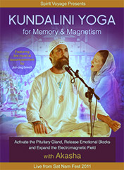 Kundalini Yoga for Memory and Magnetism by Akasha | Jai-jagdeesh