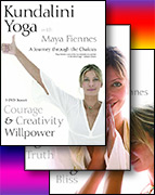A Journey Through the Chakras - 7 DVDs by Maya Fiennes