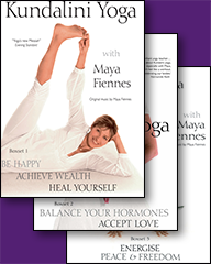 Mantras of Kundalini Yoga - 7 DVDs by Maya Fiennes