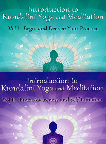 Introduction to Kundalini Yoga - 2 Volume Set - Guru Rattana Phd