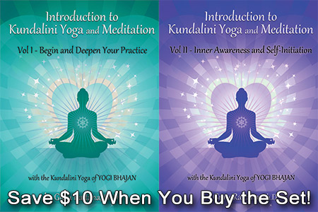 New Introduction to Kundalini Yoga - 2 volumes