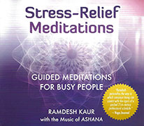 Stress Relief Meditations by Ramdesh Kaur