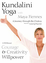 Courage Creativity and Willpower DVD by Maya Fiennes