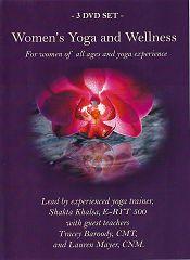 Womens Yoga and Wellness - 3 DVD Set by Shakta Khalsa