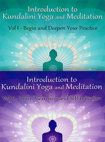 Introduction to Kundalini Yoga - 2 Volume Set by Guru Rattana Phd