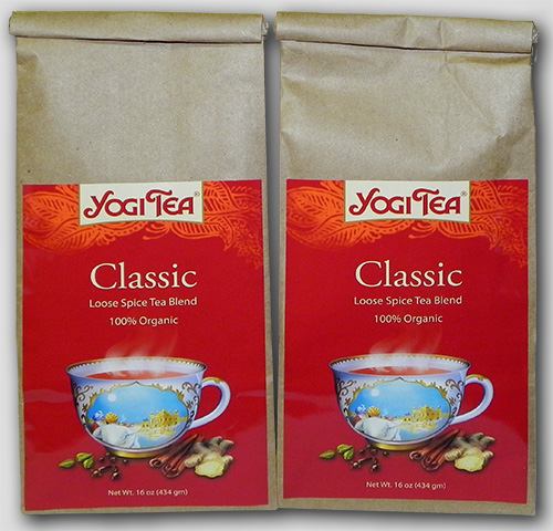 Yogi Tea Bulk Classic 32oz Twin Pack by Kundalini Research Institute