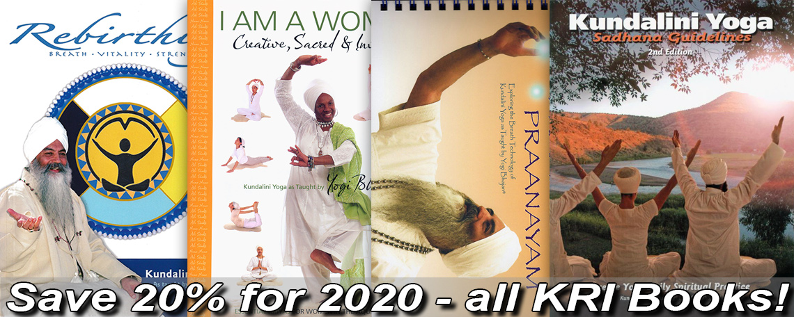 Sale - Save 20% for 2020 on all KRI Books