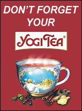 Don't Forget Your Yogi Tea